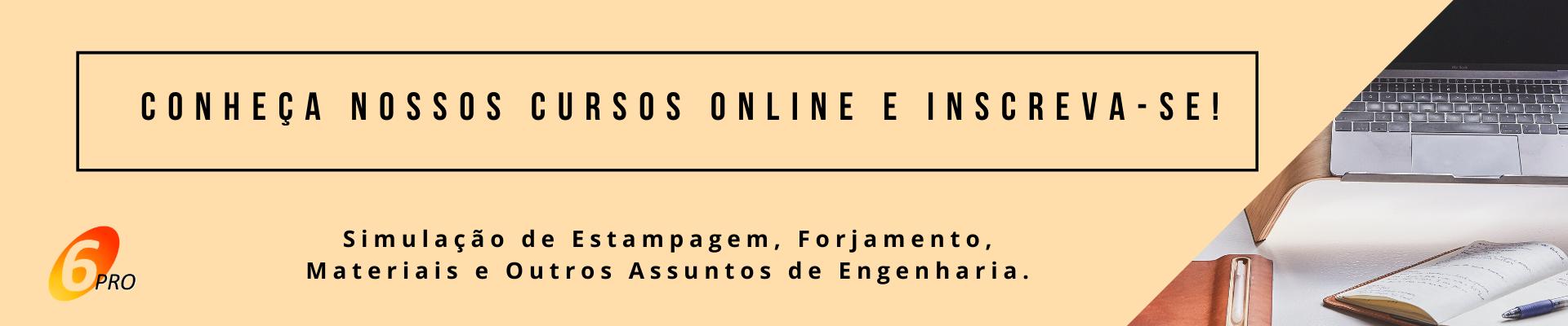 Anúncio Cursos Online